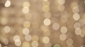 Golden Bokeh Background: Stock Video