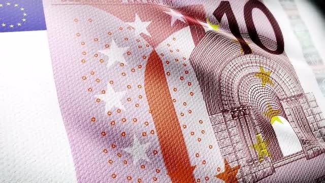 Euro Flag: Stock Motion Graphics