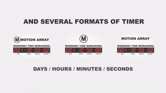 Countdown Timer: After Effects Templates