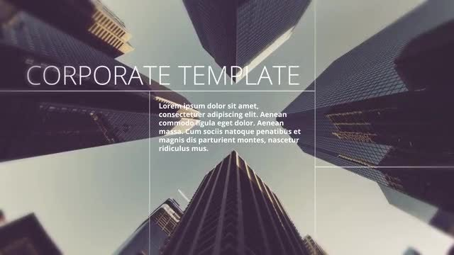 Glitch Corporate Promo: After Effects Templates