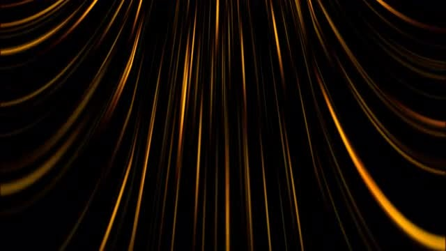 Gold Lines Shimmer 4K Background: Stock Motion Graphics