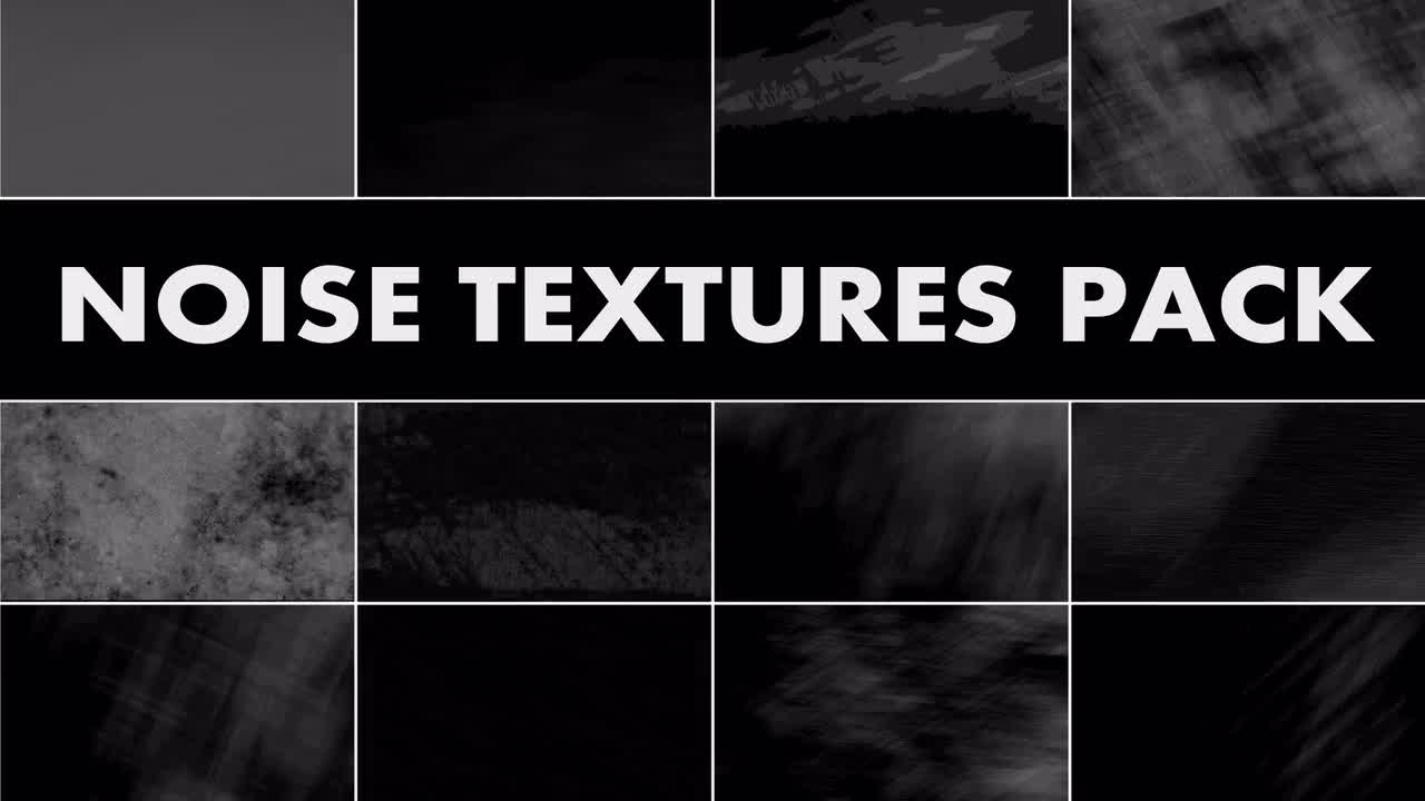 Noise Textures Pack - Stock Motion Graphics | Motion Array