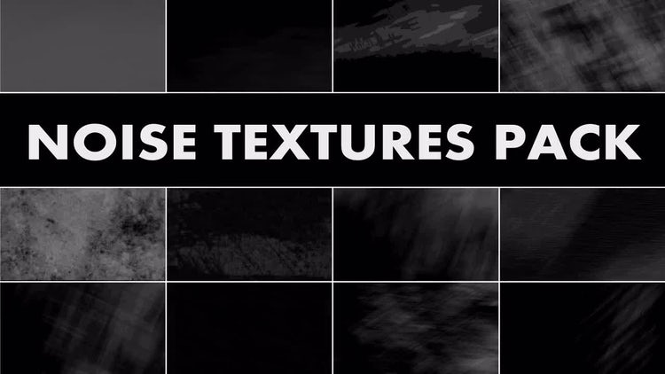 Noise Textures Pack: Motion Graphics