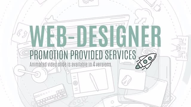 Web Designer Promo Pack: Stock Motion Graphics