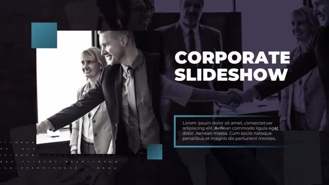 Modern Corporate Presentation: Premiere Pro Templates