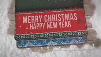 Christmas Wooly Greetings: Motion Graphics