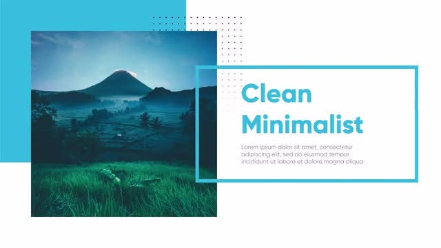 Modern & Clean Presentation: After Effects Templates