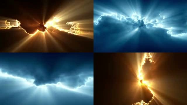 Light Energy Backgrounds Pack: Stock Motion Graphics
