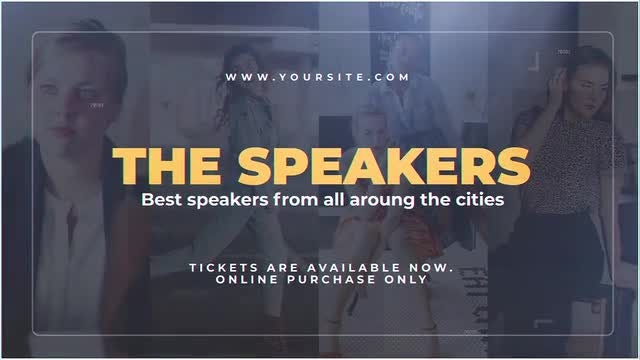 The Speakers: After Effects Templates