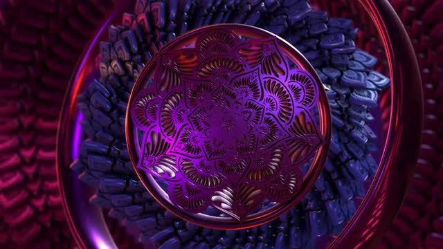 Mandala Fantasy Abstract 1: Stock Motion Graphics