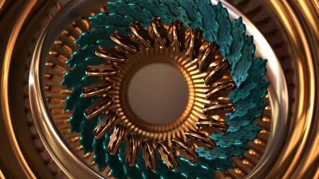 Mandala Fantasy Abstract 2: Stock Motion Graphics