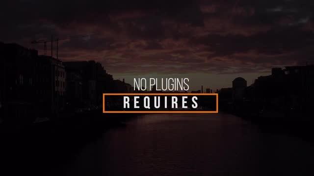 Modern Titles V1: Premiere Pro Templates