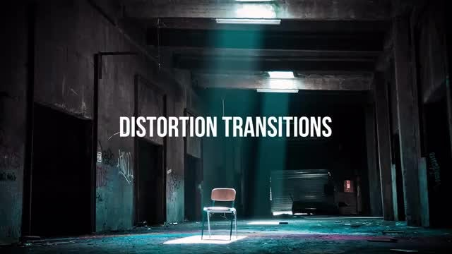 Distortion Transitions: After Effects Presets