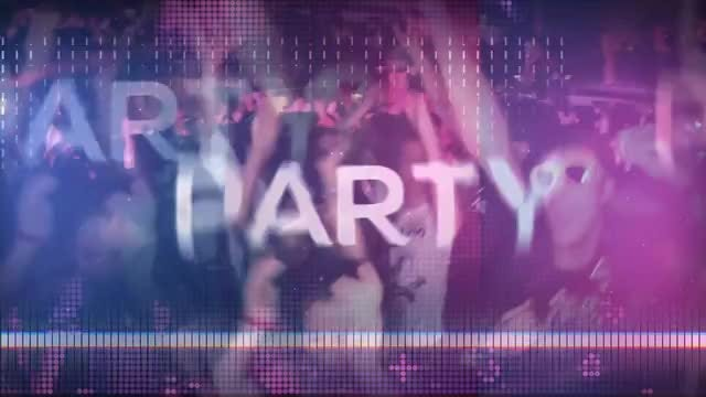 Glitch Party Opener: After Effects Templates