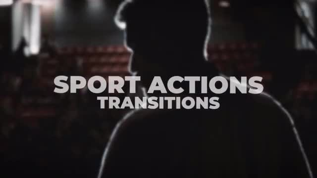 Sport Actions Transitions: After Effects Presets