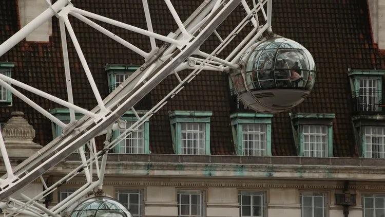 London Eye: Stock Video
