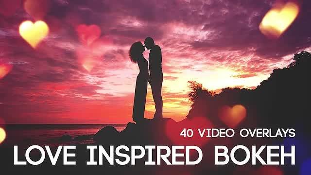 Love Inspired Bokeh: Stock Motion Graphics