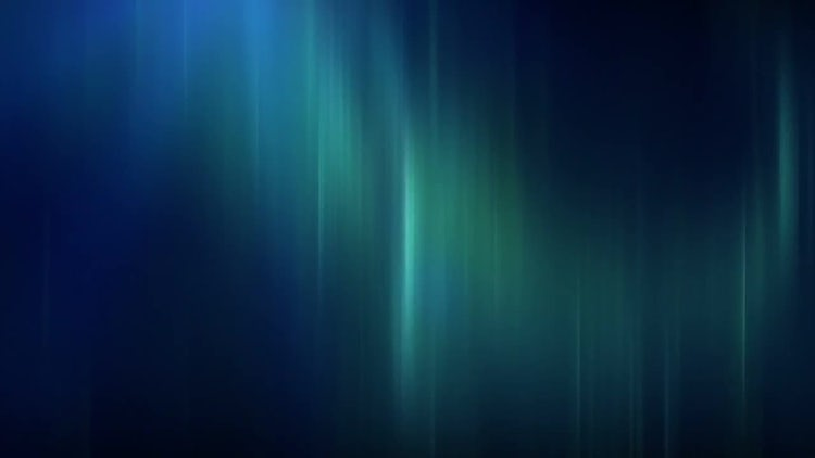 Blue And Green Streaks: Motion Graphics