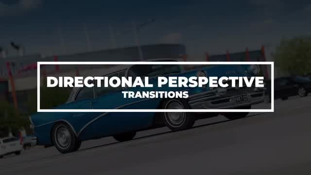 Directional Perspective Transitions: After Effects Presets