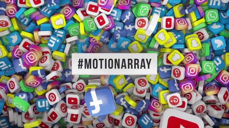 Social Media Hashtag Opener: Motion Graphics Templates