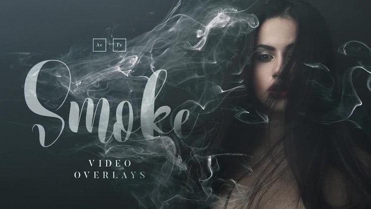 20 Smoke Video Overlays: Stock Video