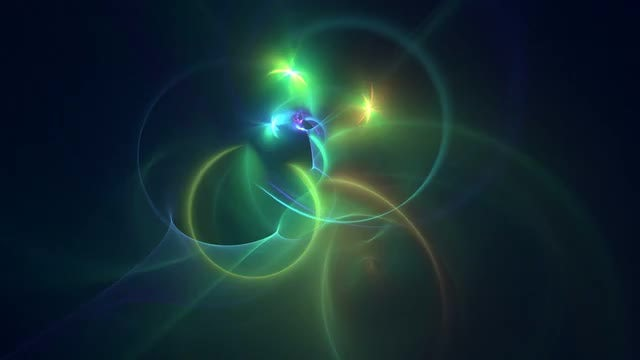 Glowing Fractal: Stock Motion Graphics
