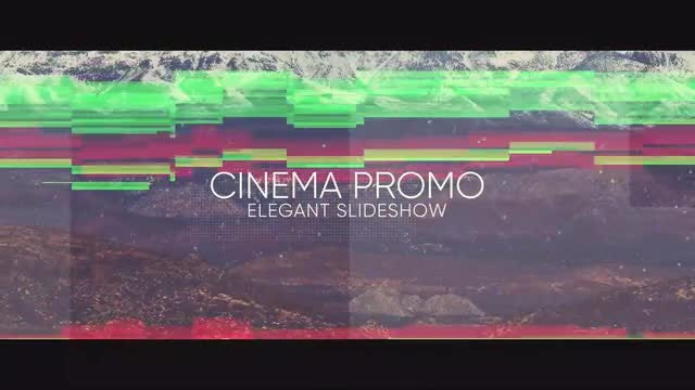 Cinematic Noise Opener: After Effects Templates