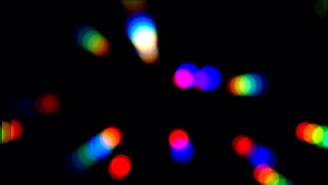 Night Party Bokeh: Stock Motion Graphics