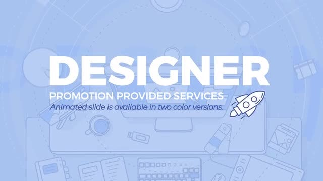 Designer Promo: After Effects Templates