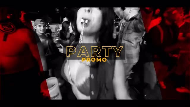 Party Promo: After Effects Templates