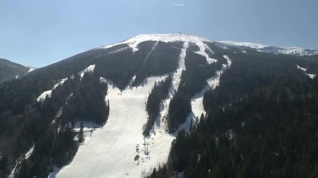 Mountain Bjelasnica: Stock Video
