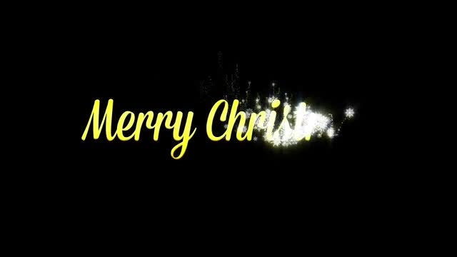 Animated New Year and Christmas Titles: Stock Motion Graphics