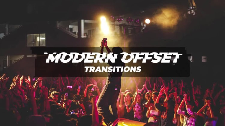 Modern Offset Transitions: Premiere Pro Presets