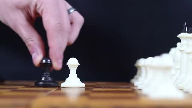 Playing Chess: Stock Video