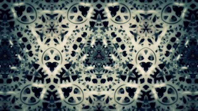 Cogwheels Kaleidoscope Pack: Stock Motion Graphics