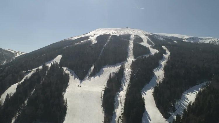 Winter Mountain: Stock Video