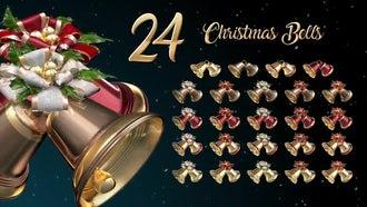 Christmas Bells: Stock Motion Graphics
