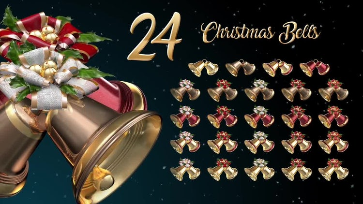 Christmas Bells: Stock Motion Graphics