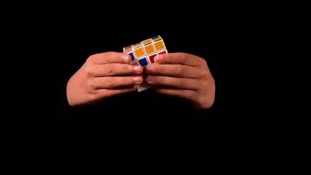 Magic Rubik's Cube: Stock Video