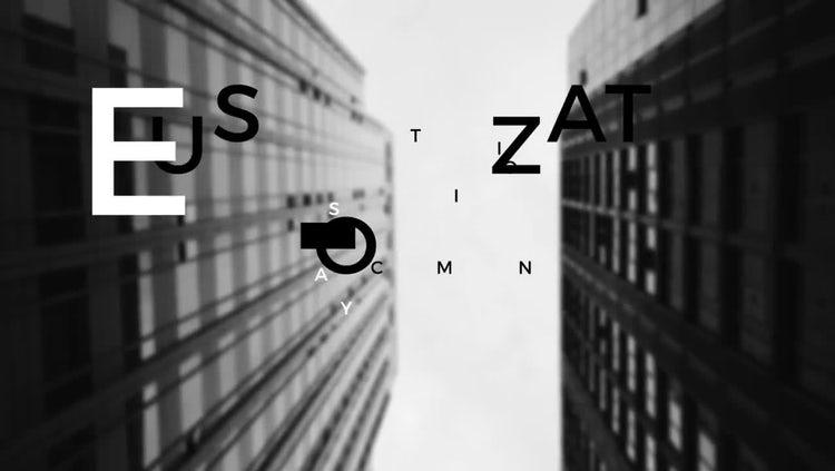 Modern Urban Titles: After Effects Templates