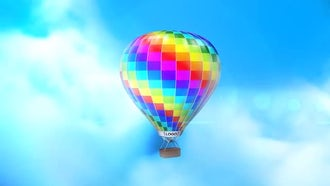 Air Balloon: After Effects Templates