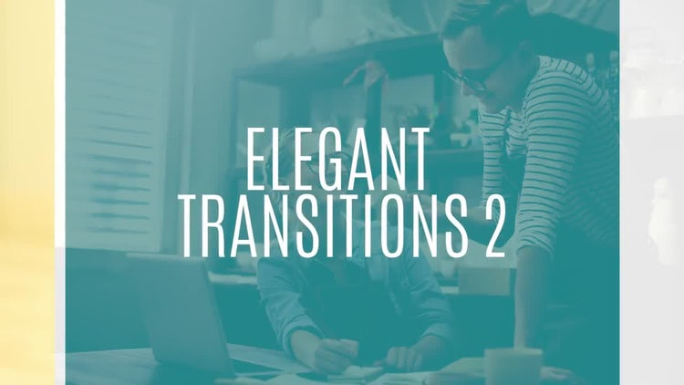 Elegant Transitions 2: Premiere Pro Templates