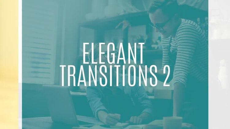 Elegant Transitions 2: Premiere Pro Templates