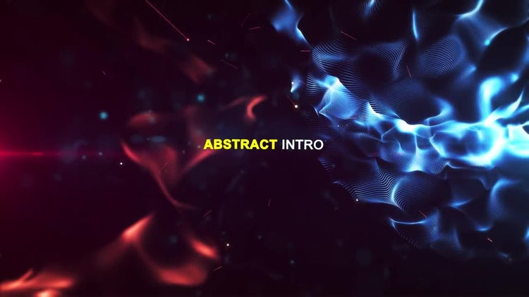 Abstract Intro: After Effects Templates