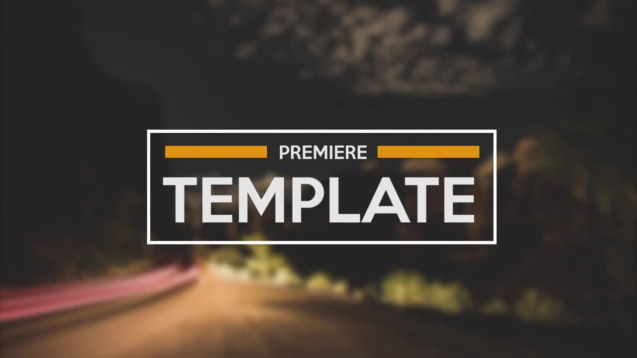 Titles Pack - Premiere Pro Templates | Motion Array
