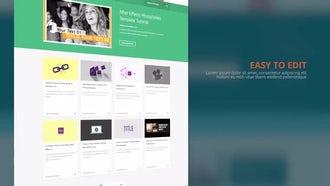 Website Presentation: Premiere Pro Templates