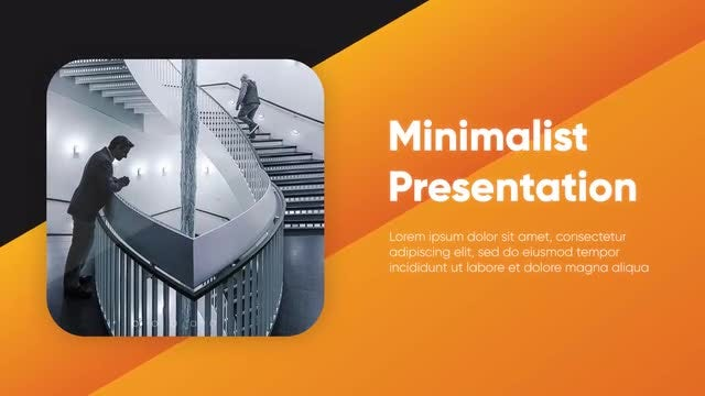 Clean Corporate - Minimalist Presentation: After Effects Templates
