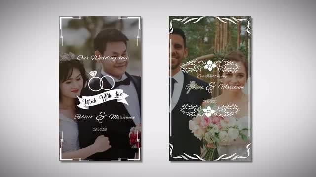 Instagram Wedding Story: Premiere Pro Templates
