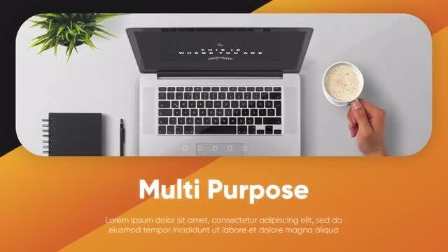 Clean Corporate - Minimalist Presentation: Premiere Pro Templates