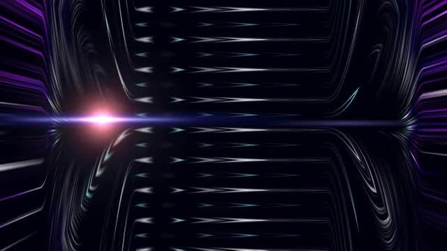 Hi Tech Light Movement 4K: Stock Motion Graphics